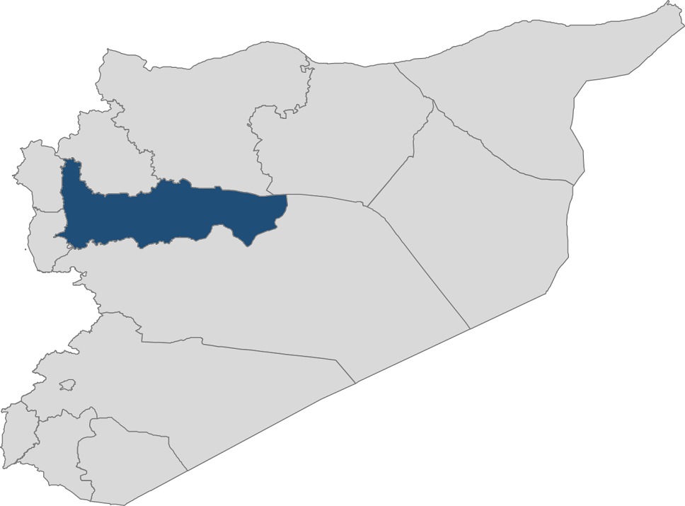 Hama Map - Syrian American Medical Society Foundation