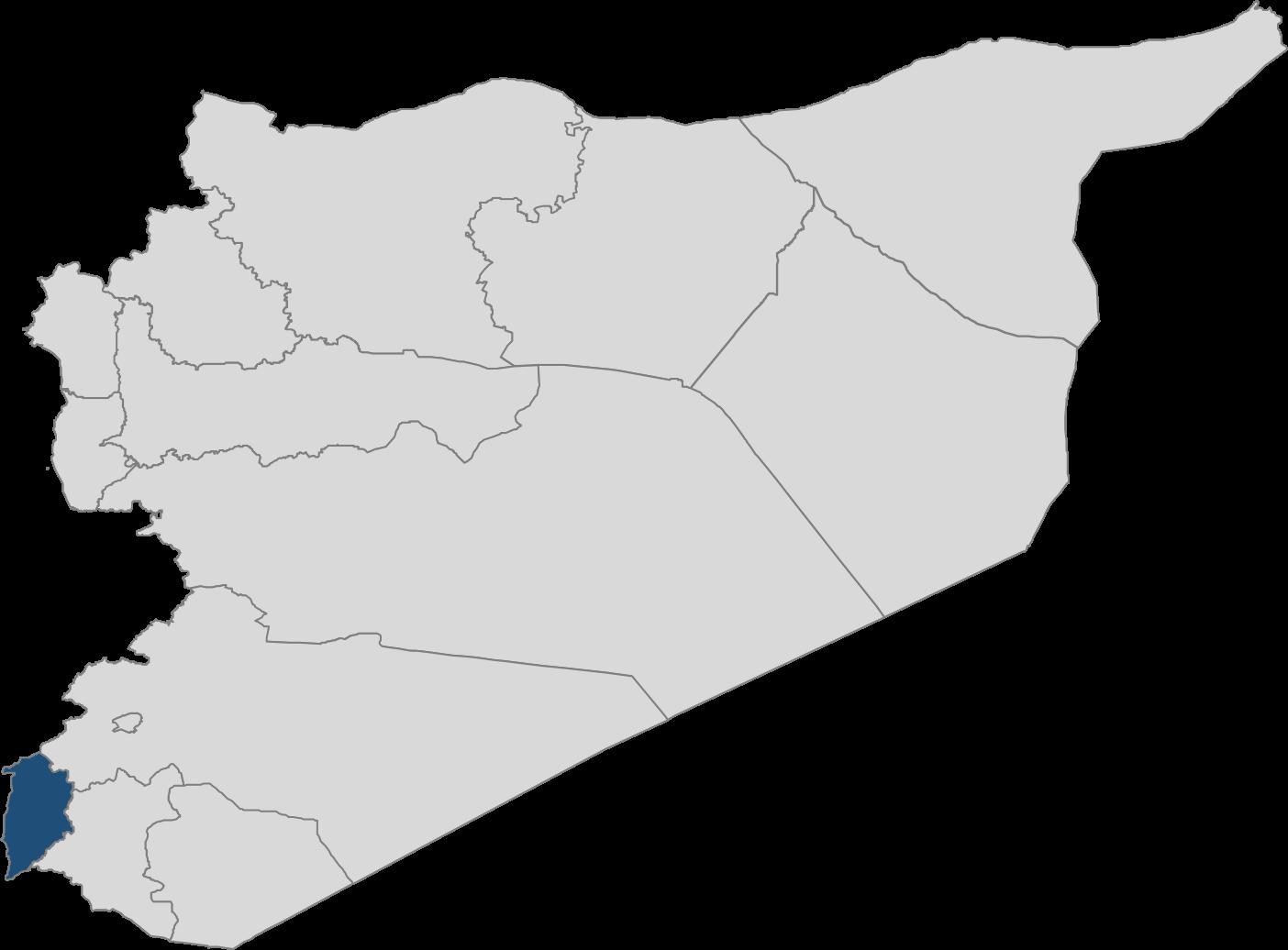 Quneitra Map - Syrian American Medical Society Foundation