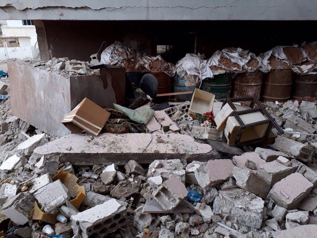 Targeting Dar'a Albalad hospital