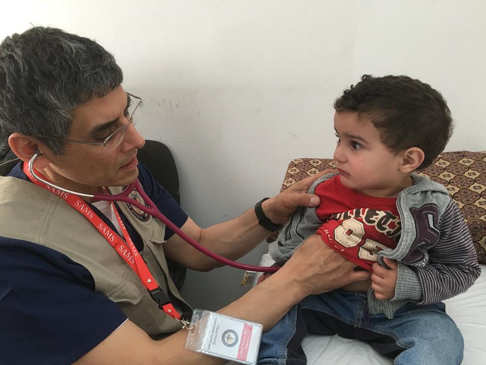 Child Receives Treatment