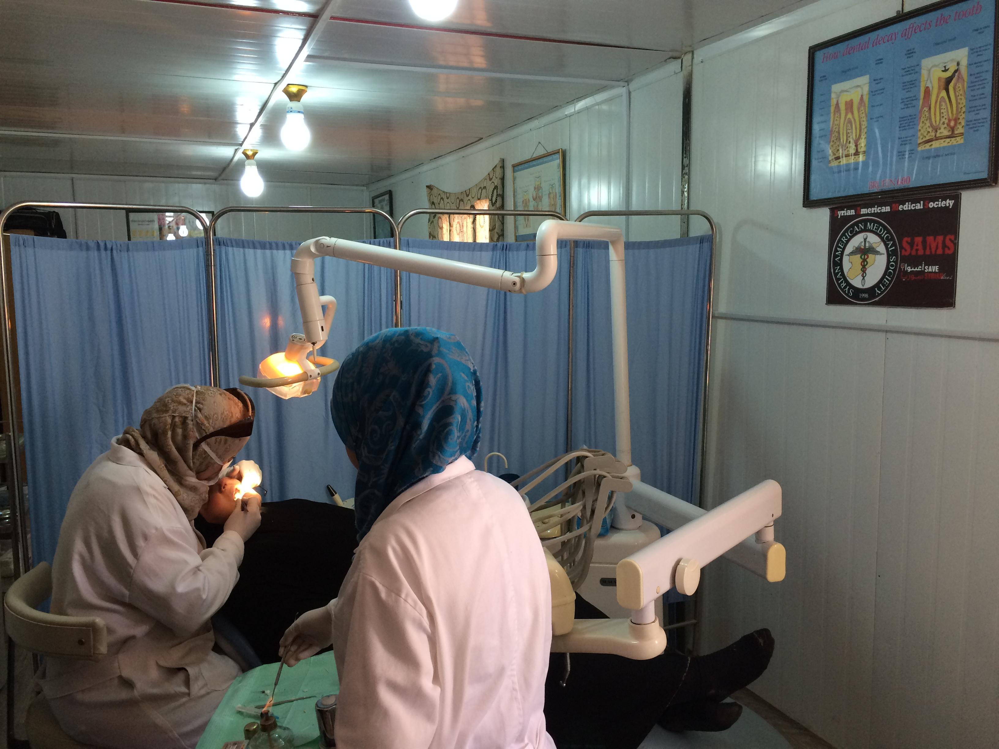 Dental Care at Za'atari Clinic