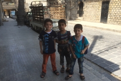Children in Aleppo