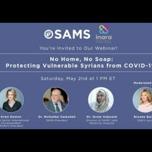 No Home, No Soap: Protecting Vulnerable Syrians from COVID-19